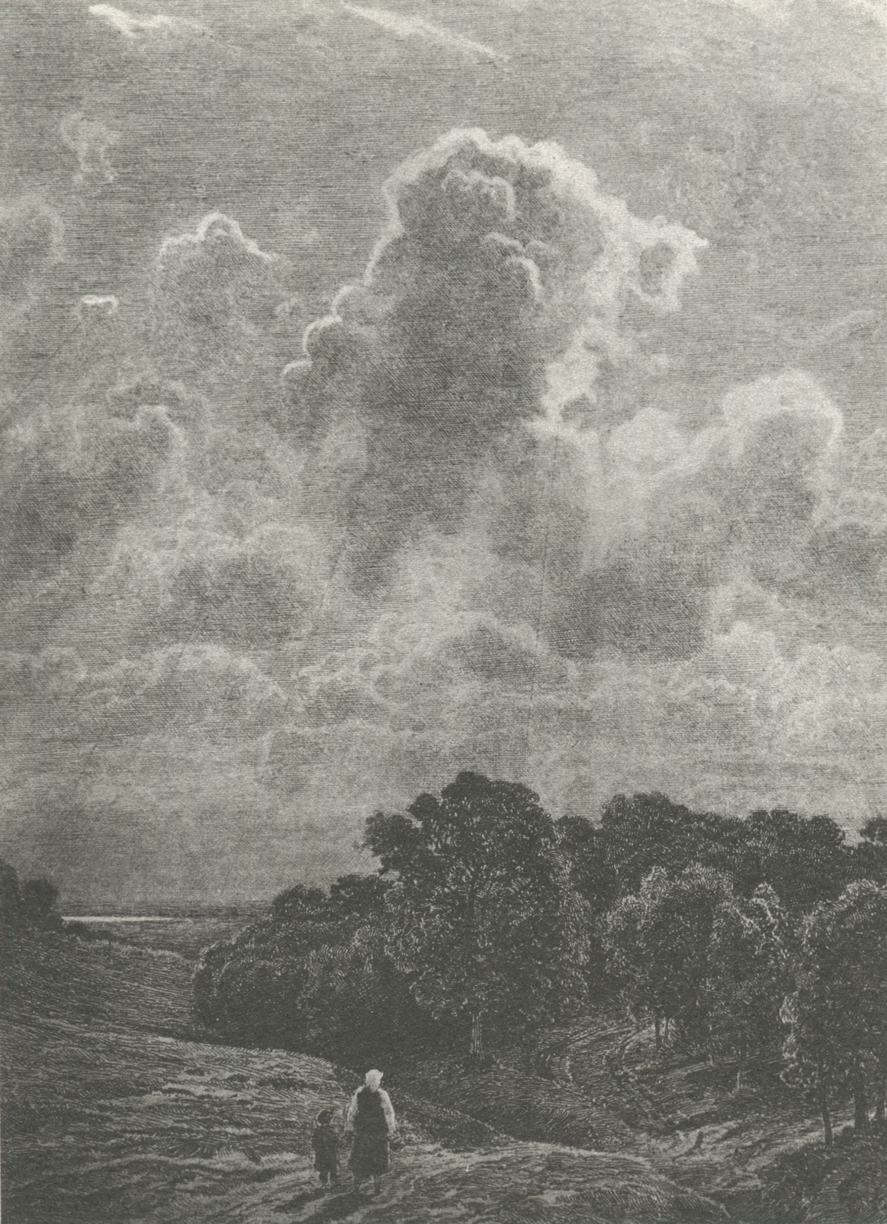 25. Облака над рощей. 1878 (Clouds Above the Grove. 1878)