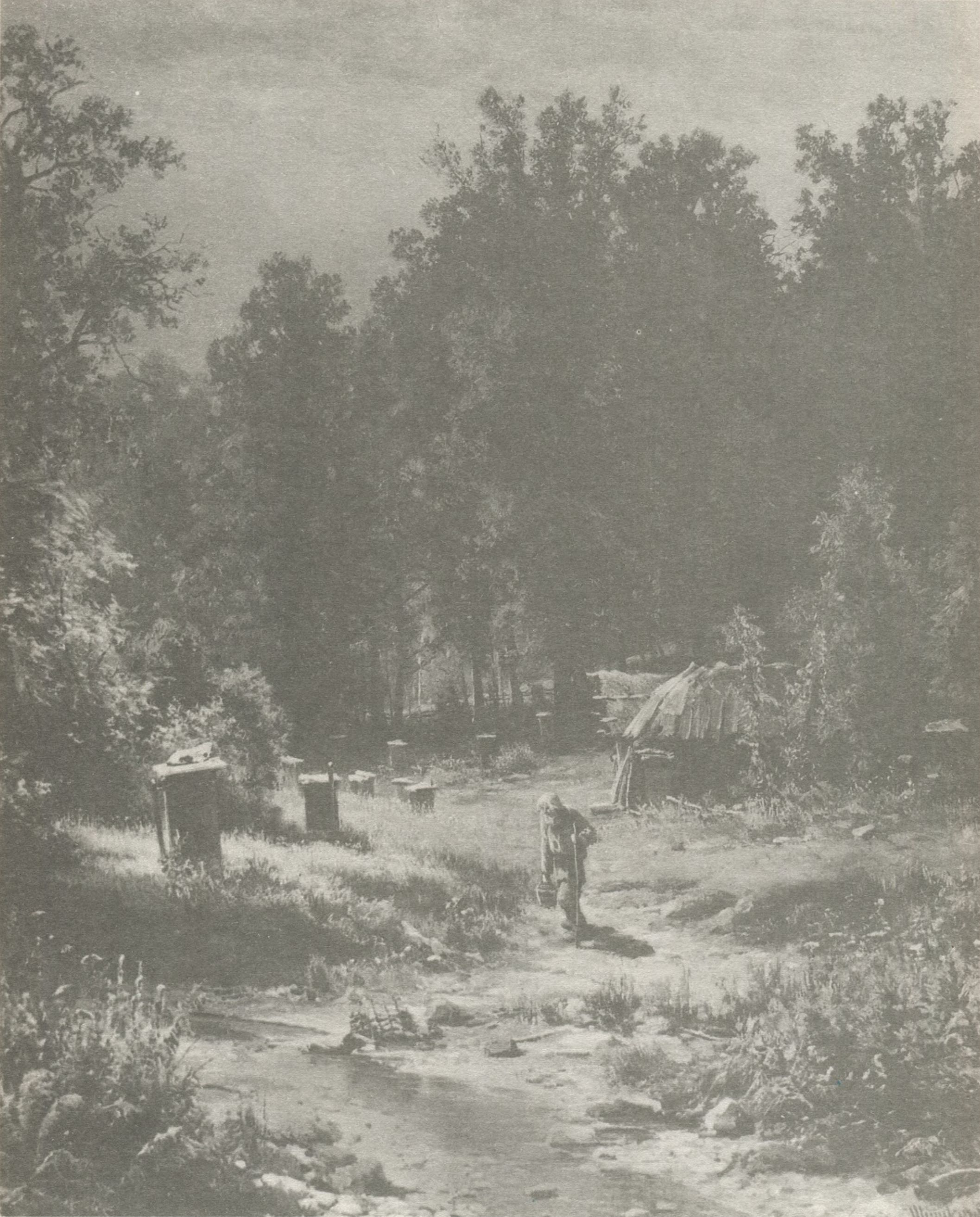 27. Пасека в лесу. 1876 (Apiary in the Wood. 1876)