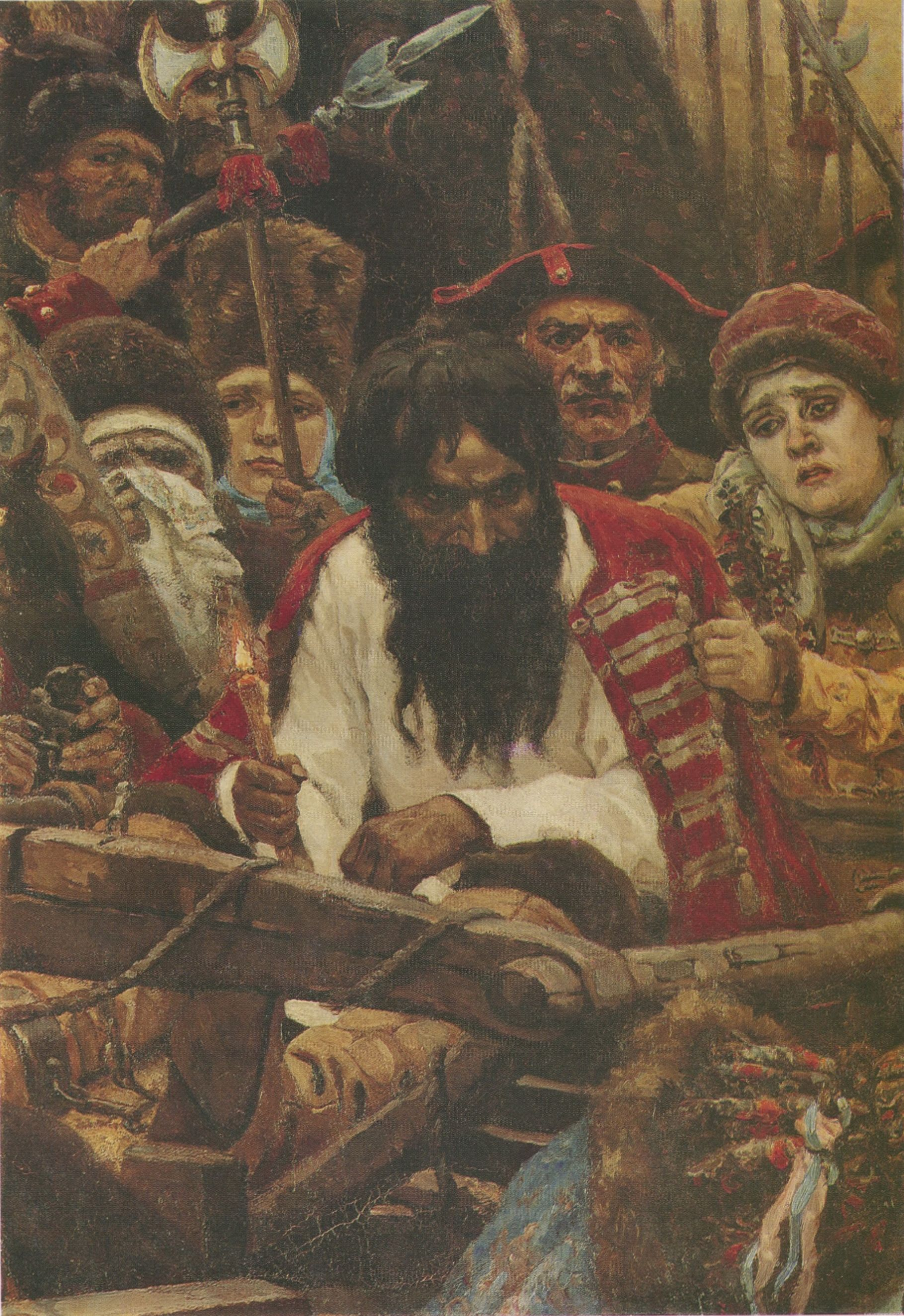 14. Утро стрелецкой казни. Фрагмент (Morning of the Streltsy Execution. Detail)