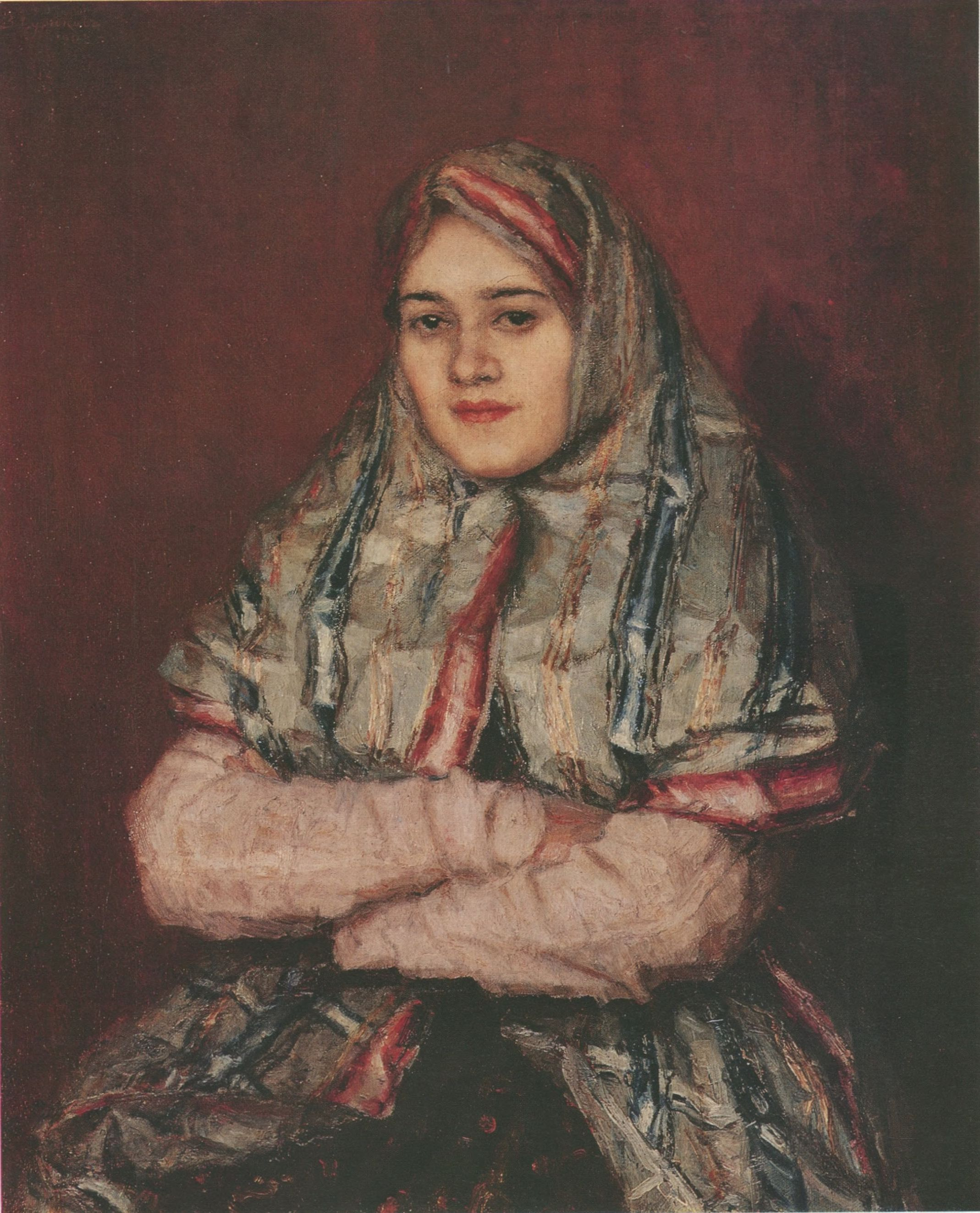 47. Горожанка (Портрет А.И. Емельяновой). 1902 (Town Woman (Portrait of Alexandra Yemelyanova). 1902)