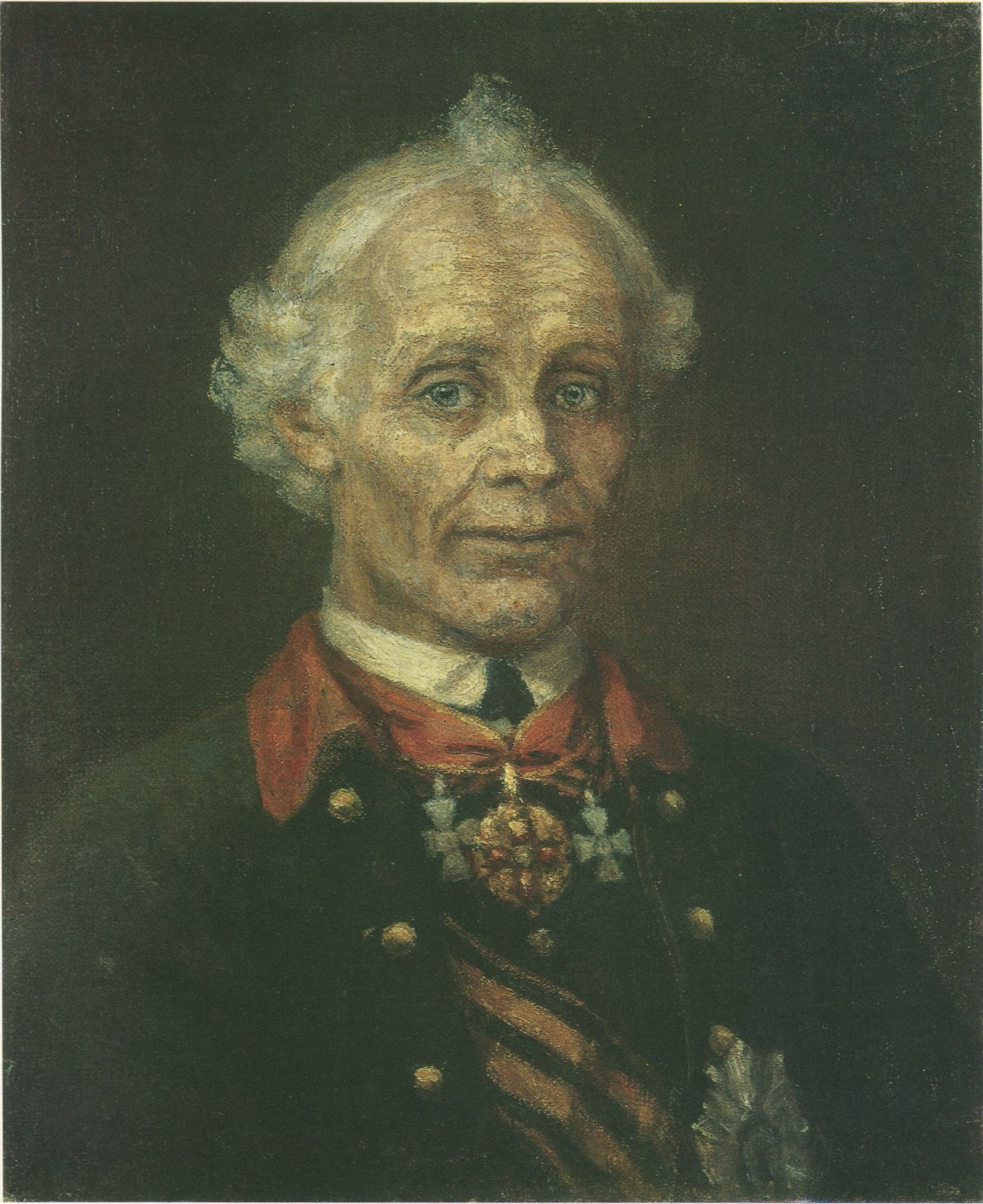 65. Портрет А.В. Суворова. 1907 (Portrait of Alexander Suvorov. 1907)