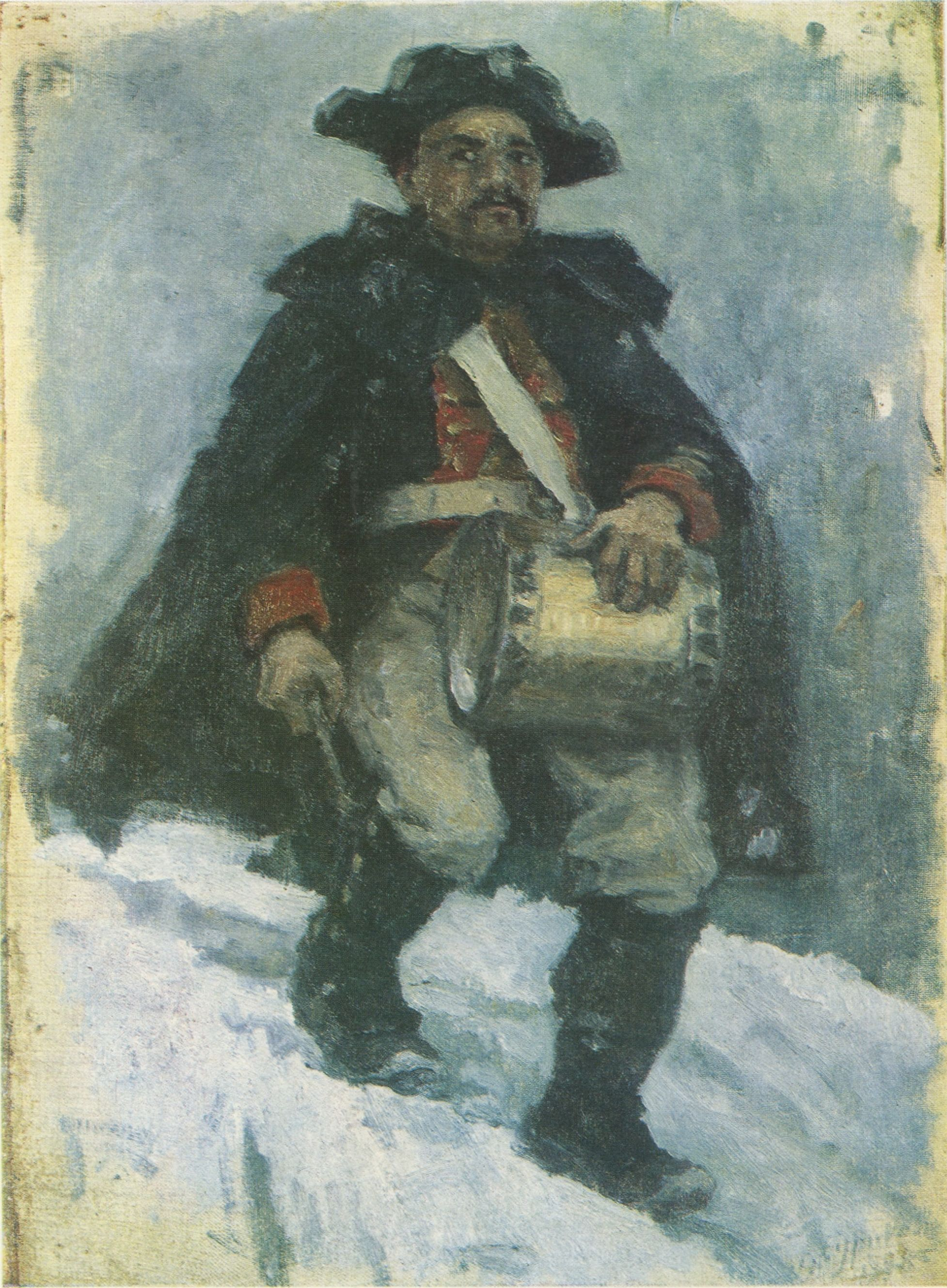 67. Солдат с барабаном. 1898 (Soldier with a Drum. 1898)